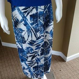 Liz  Claiborne Collection Size 10 Long Skirt